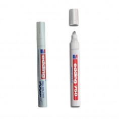 Фломастер маркировочный водостойкий белый Fix-B