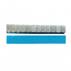 Грузик на клейкой основе (самоклеящийся, самоклейка) стальной ECO, низкий, 60г