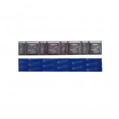 Грузик на клейкой основе (самоклеящийся, самоклейка) свинцовый TYPE 330, низкий, 60 г