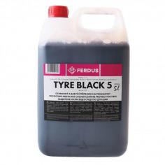 Консервант-краска для шин Tyre Black, 5 л