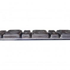 Грузики самоклеящиеся Smart высокие 5 мм, полоса 60 г (свинцовая самоклейка)