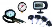 Приборы для измерения давления и подкачки колес