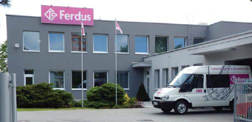 Завод Ferdus в Чехии